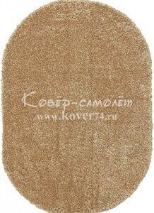 Ковёр SHAGGY ULTRA-s600-DARK BEIGE-Oval