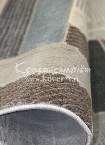 Ковёр PLATINUM-36622A-GRAY-BLUE-stan