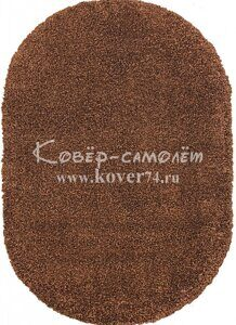 Ковёр SHAGGY ULTRA-s600-BROWN-Oval