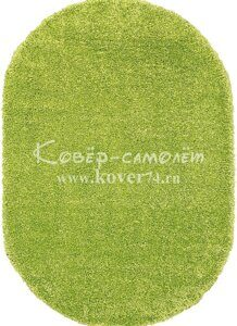 Ковёр SHAGGY ULTRA-s600-GREEN-Oval